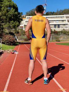 Team uniform 2018 speedsuit back