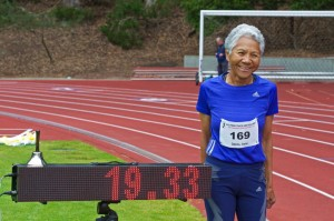 Irene Obera world record in the 80m hurdles at Pride Meet